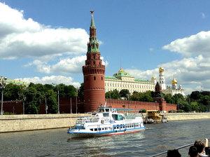 Экскурсия на теплоходе по Москве
