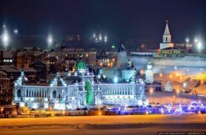 Тур в Казань на Новый год